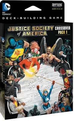 DC Comics Deck Building Game: Crossover Pack 1 Expansion