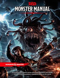 Dungeons and Dragons 5th ed: Monster Manual