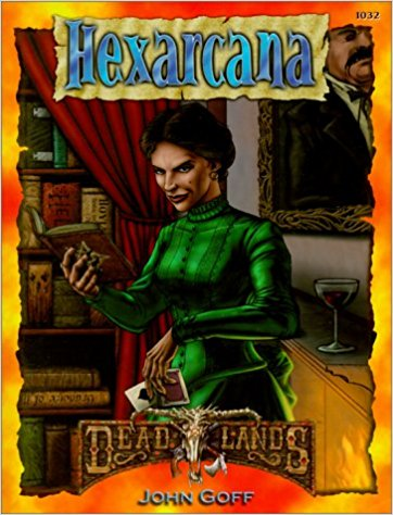 Deadlands Hexarcana - Used