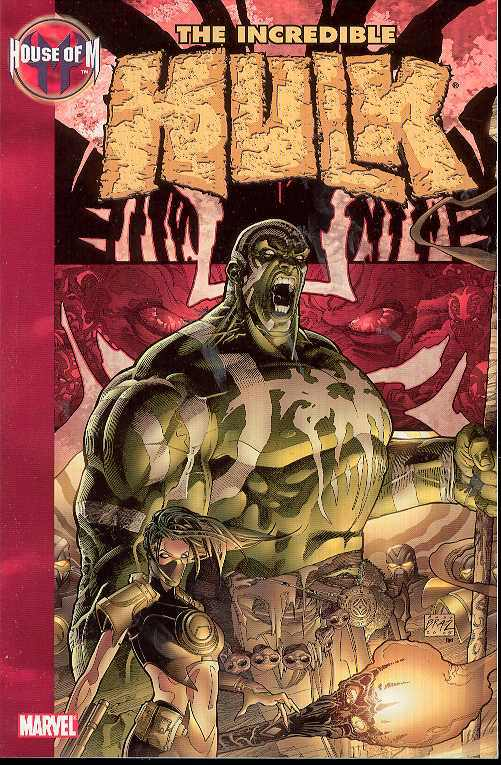 House of M: the Incredible HULK TP - Used