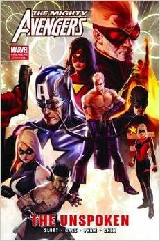 The Mighty Avengers: the Unspoken HC - Used