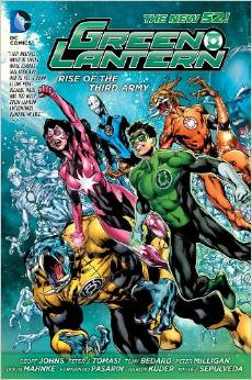 Green Lantern: Rise of the Third Army HC - Used
