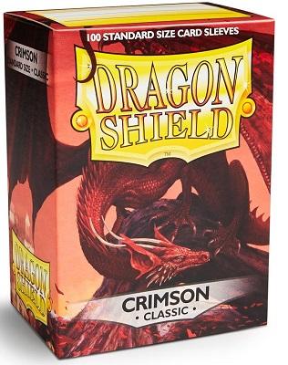 Sleeves: Dragon Shield: Crimson: 100 Sleeves