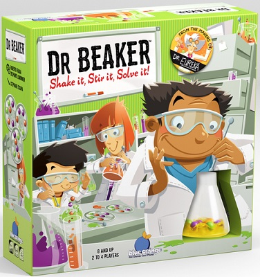 Dr. Beaker Board Game
