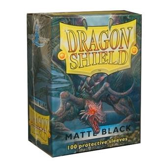 Sleeves: Dragon Shield: Matte Black: 100 Sleeves