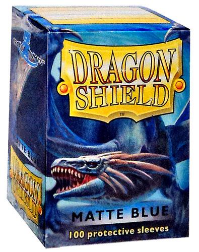Sleeves: Dragon Shield: Matte Blue: 100 Sleeves