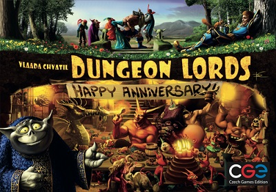 Dungeon Lords: Happy Anniversary Board Game
