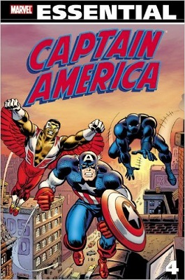 Essential Captain America: Volume 4