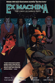 Ex Machina: Volume 1: The First Hundred Days TP