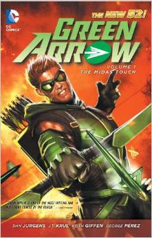Green Arrow: Volume 1: the Midas Touch TP - Used