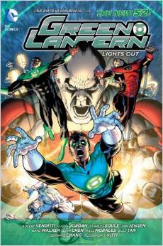 Green Lantern: Lights Out HC - Used