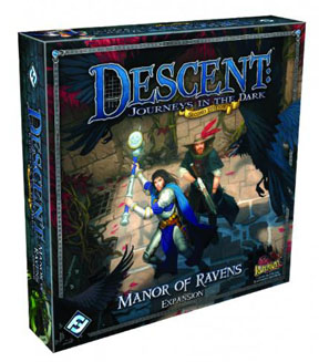 Descent: Journeys in the Dark 2nd ed: Manor of Ravens Expansion