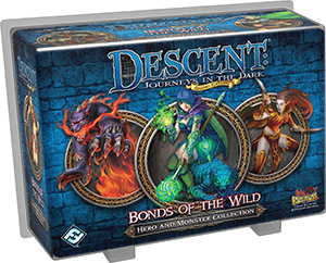 Descent: Journeys in the Dark 2nd ed: Bonds of the Wild