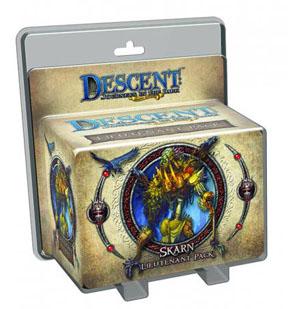Descent: Journeys in the Dark 2nd ed: Skarn Lieutenant Pack