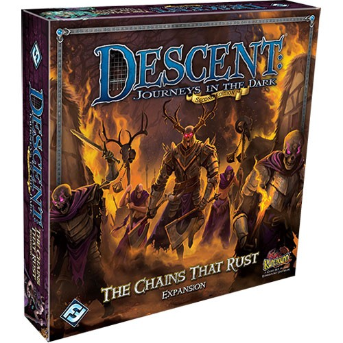 Descent: Journeys in the Dark 2nd ed: The Chains that Rust