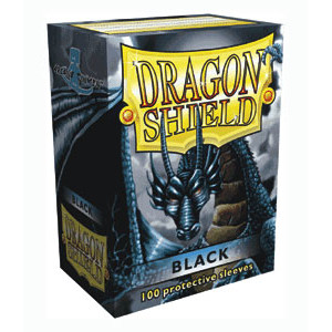 Sleeves: Dragon Shield: Black: 100 Sleeves