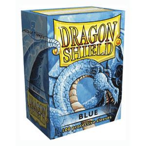Sleeves: Dragon Shield: Blue: 100 Sleeves