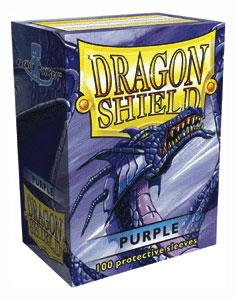 Sleeves: Dragon Shield: Purple: 100 Sleeves
