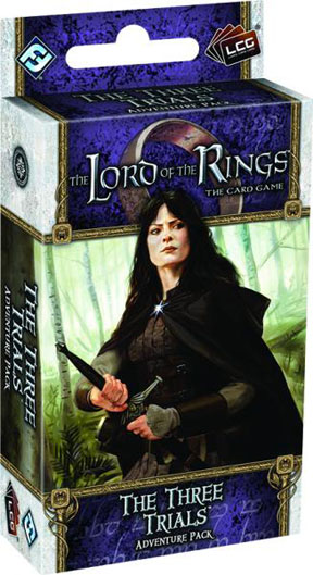 The Lord of the Rings the Card Game: The Thee Trials Adventure Pack