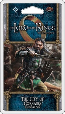 The Lord of the Rings the Card Game: The City of Corsairs Adventure Pack