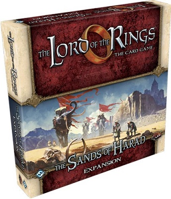 The Lord of the Rings the Card Game: The Sands of Harad Deluxe Expansion