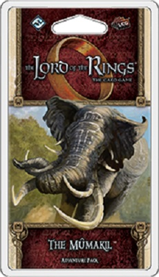 The Lord of the Rings the Card Game: The Mumakil Adventure Pack