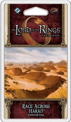 The Lord of the Rings the Card Game: Race Across Harad Adventure Pack