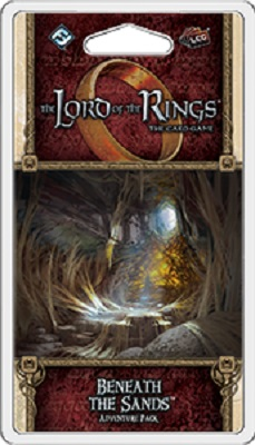 The Lord of the Rings the Card Game: Beneath the Sands Adventure Pack