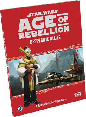 Star Wars: Age of Rebellion: Desperate Allies - Used