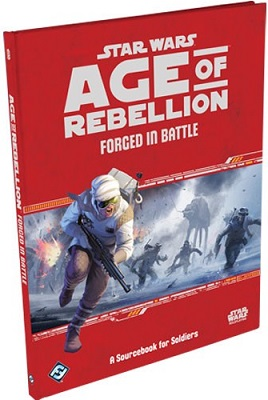 Star Wars: Age of Rebellion Role Playing: Forged In Battle - Used