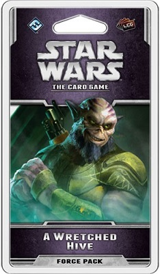 Star Wars the Card Game: A Wretched Hive Force Pack