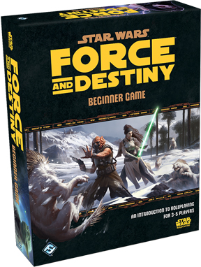 Star Wars: Force and Destiny Role Playing Beginner Game
