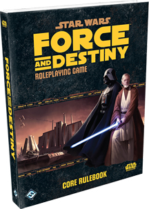 Star Wars: Force and Destiny Role Playing Core Rule