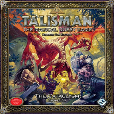 Talisman: the Magical Quest Game: Revised 4th Edition: the Cataclysm Expansion