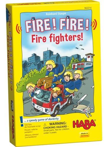 Fire! Fire! Firefighters! Board Game