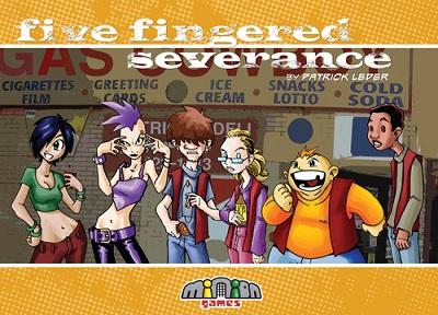 Five Fingered Severance Card Game - USED - By Seller No: 9411 David Palomares Jr