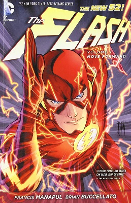 The Flash: Volume 1: Move Forward HC (New 52) - Used
