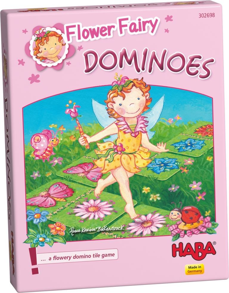 Flower Fairy Dominoes