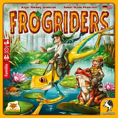 Frogriders Board Game