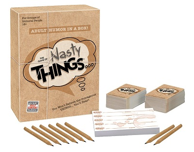 The Game of Nasty Things Card Game