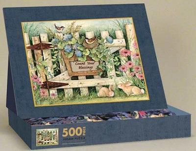 Garden Gate Puzzle (500 Pieces)