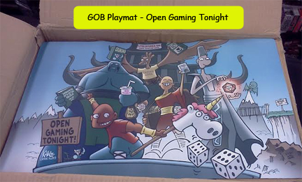 GOB Playmat - Open Gaming Tonight