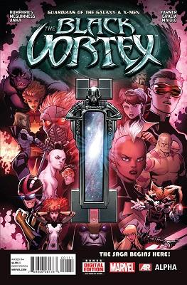 The Black Vortex Alpha and Omega (2015) Complete Bundle - Used