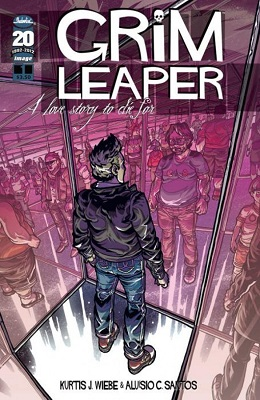 Grim Leaper Complete Bundle (4 issues) - Used