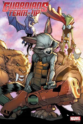 Guardians Team-Up no. 5 by Ramos Poster Boarded