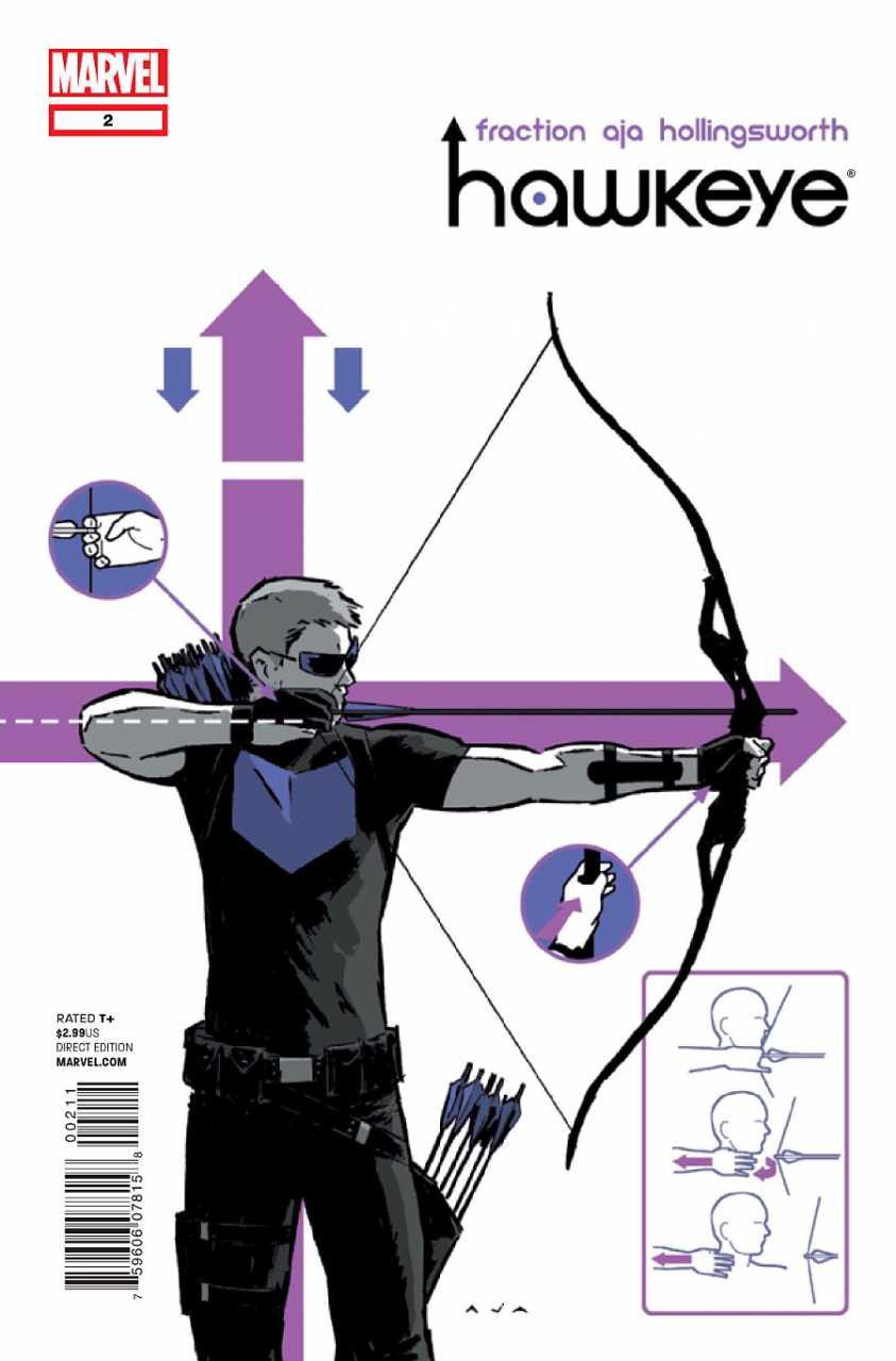Hawkeye no. 2 (2012 series)(Other Printings) - Used