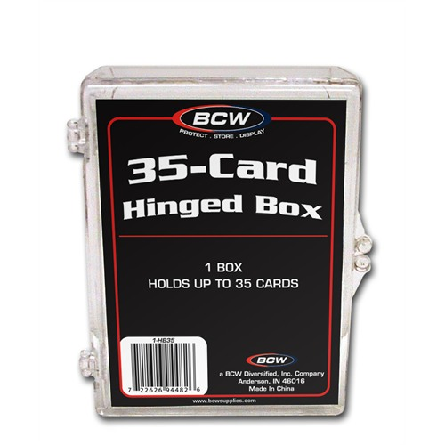 35-Card Hinged Box