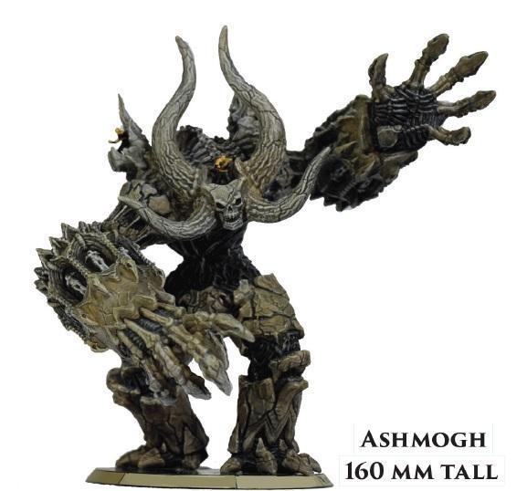 Golem Arcana: Urugal: Ashmogh Colossus