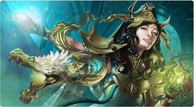 Play Mat: Venompulse Enchantress 96694