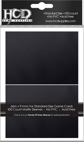 Deck Protector: Matte: Black (100): 96754